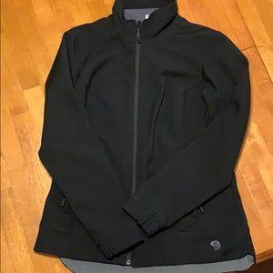 Women's mountain hardwear soft shell jacket large